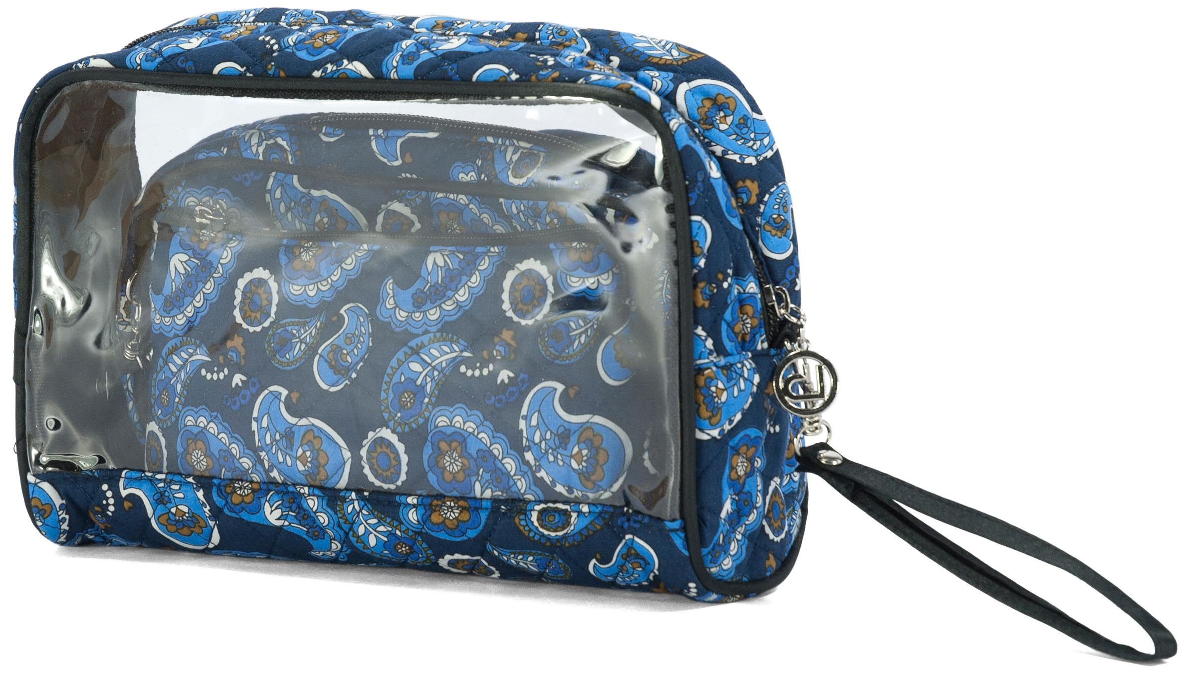 Νεσεσέρ Σετ 3τμχ benzi 5015 Blue - benzi - BZ-5015-blue ειδη οικ  χρησησ βαλίτσες   τσάντες ταξιδίου