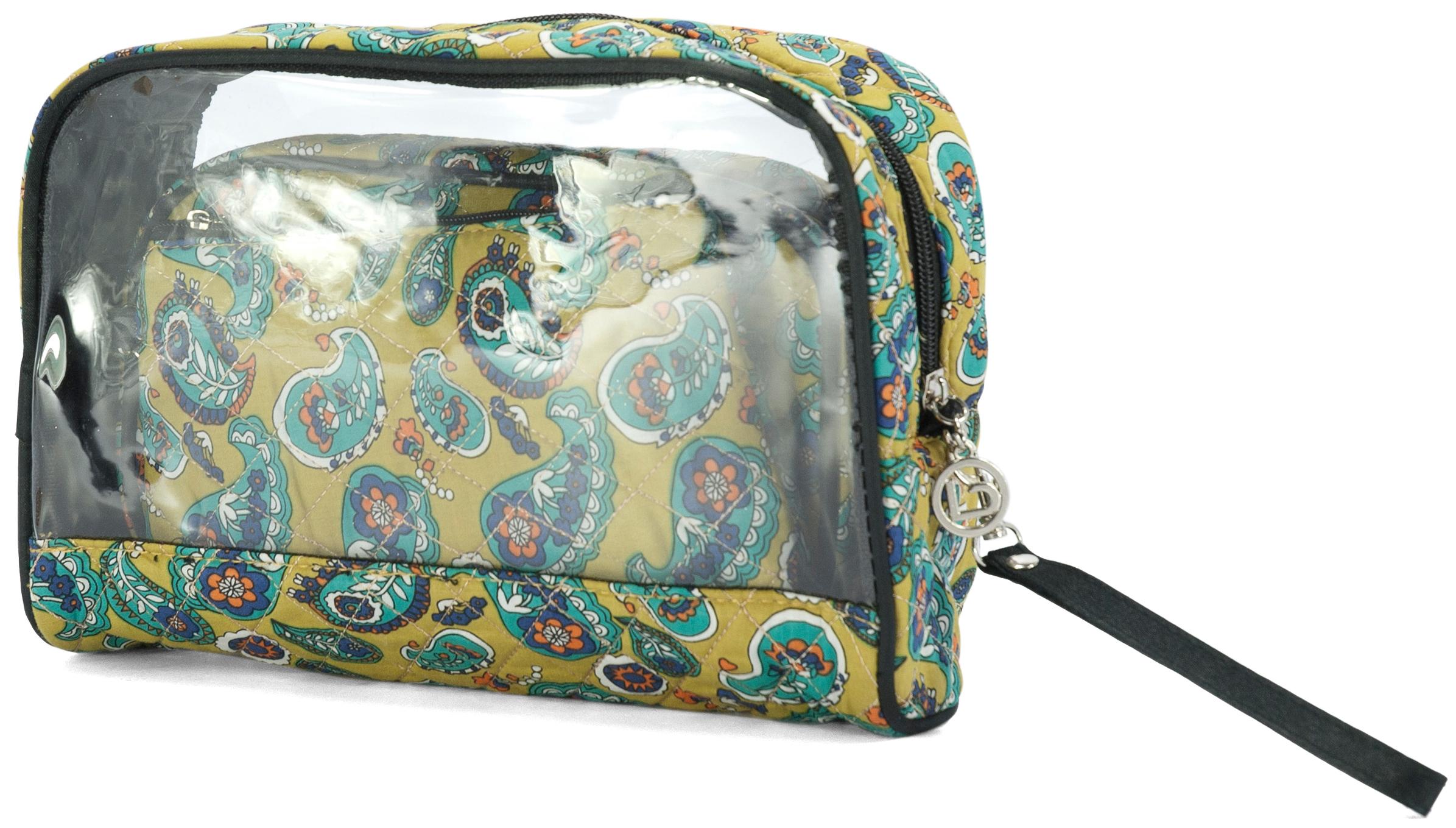 Νεσεσέρ Σετ 3τμχ benzi 5015 Green - benzi - BZ-5015-green ειδη οικ  χρησησ βαλίτσες   τσάντες ταξιδίου