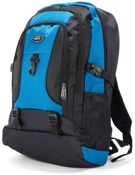 Σακίδιο Πλάτης benzi 4764 Black/Ciel - benzi - BZ-4764-black/ciel ειδη οικ  χρησησ βαλίτσες   τσάντες ταξιδίου