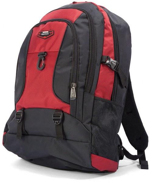Σακίδιο Πλάτης benzi 4764 Black/Red - benzi - BZ-4764-black/red ειδη οικ  χρησησ βαλίτσες   τσάντες ταξιδίου