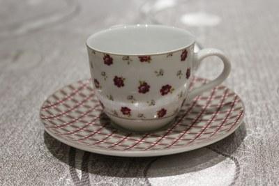 Σετ 6τμχ Φλυτζάνια Καφέ Πορσελάνης Country – AB – 6-773-coffee
