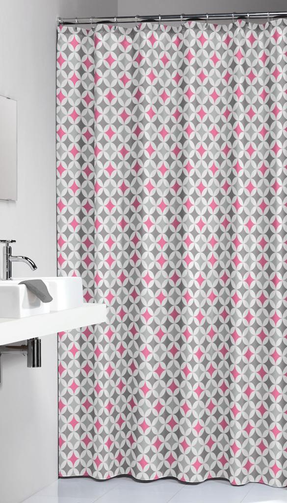 Κουρτίνα Υφασμάτινη «Diamonds Pink» 180×200εκ. Sealskin 235201350 – sealskin – 235201350
