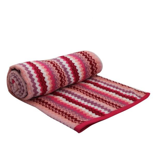 Πετσέτα Θαλάσσης Βαμβακερή Ροζ – OEM – petseta24-pink