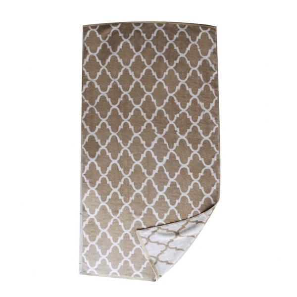 Πετσέτα Θαλάσσης Βαμβακερή Μπεζ – OEM – petseta24-beige