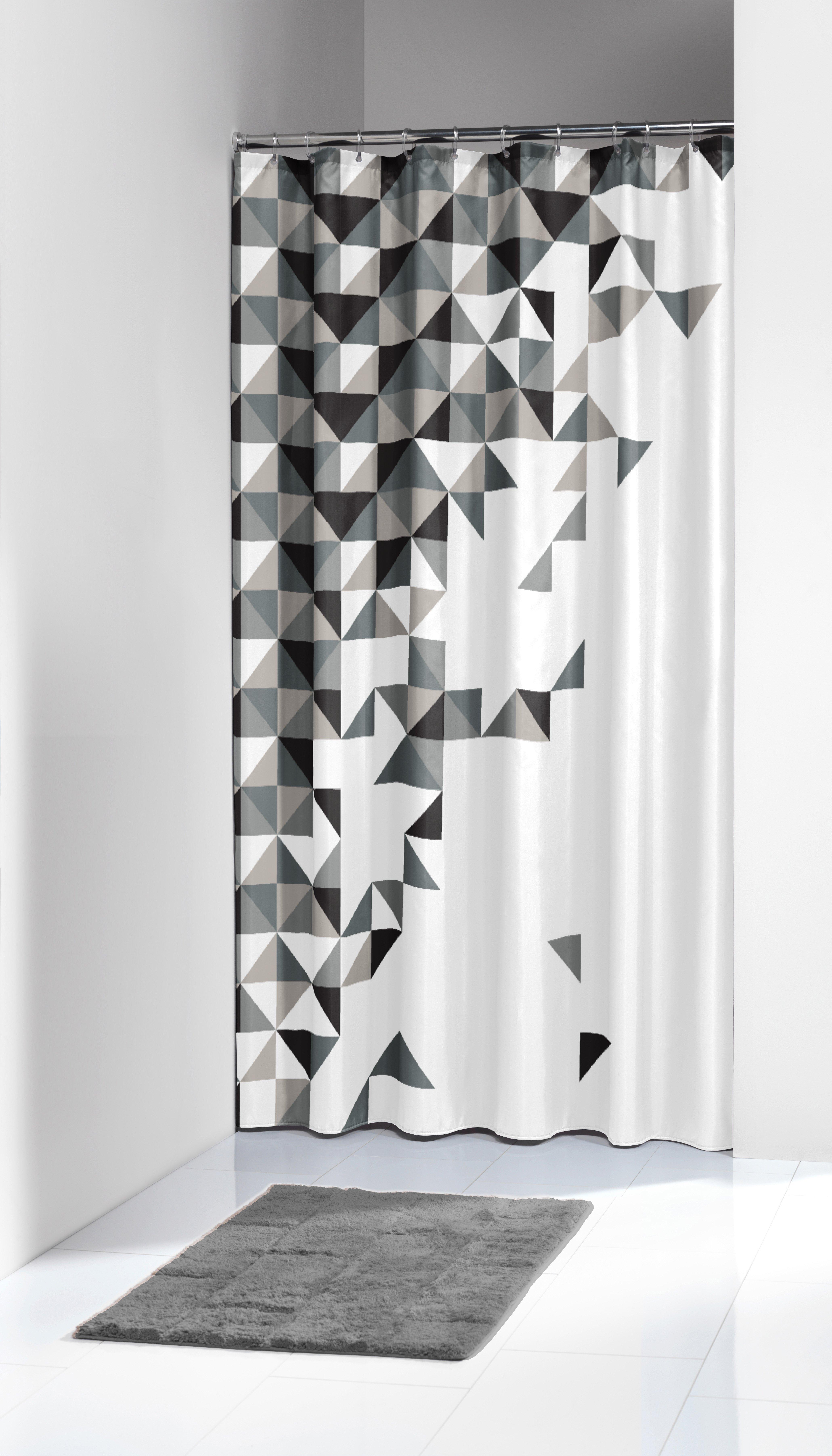 Κουρτίνα Υφασμάτινη «Tangram Black» 180×200εκ. Sealskin 235231319 – sealskin – 235231319