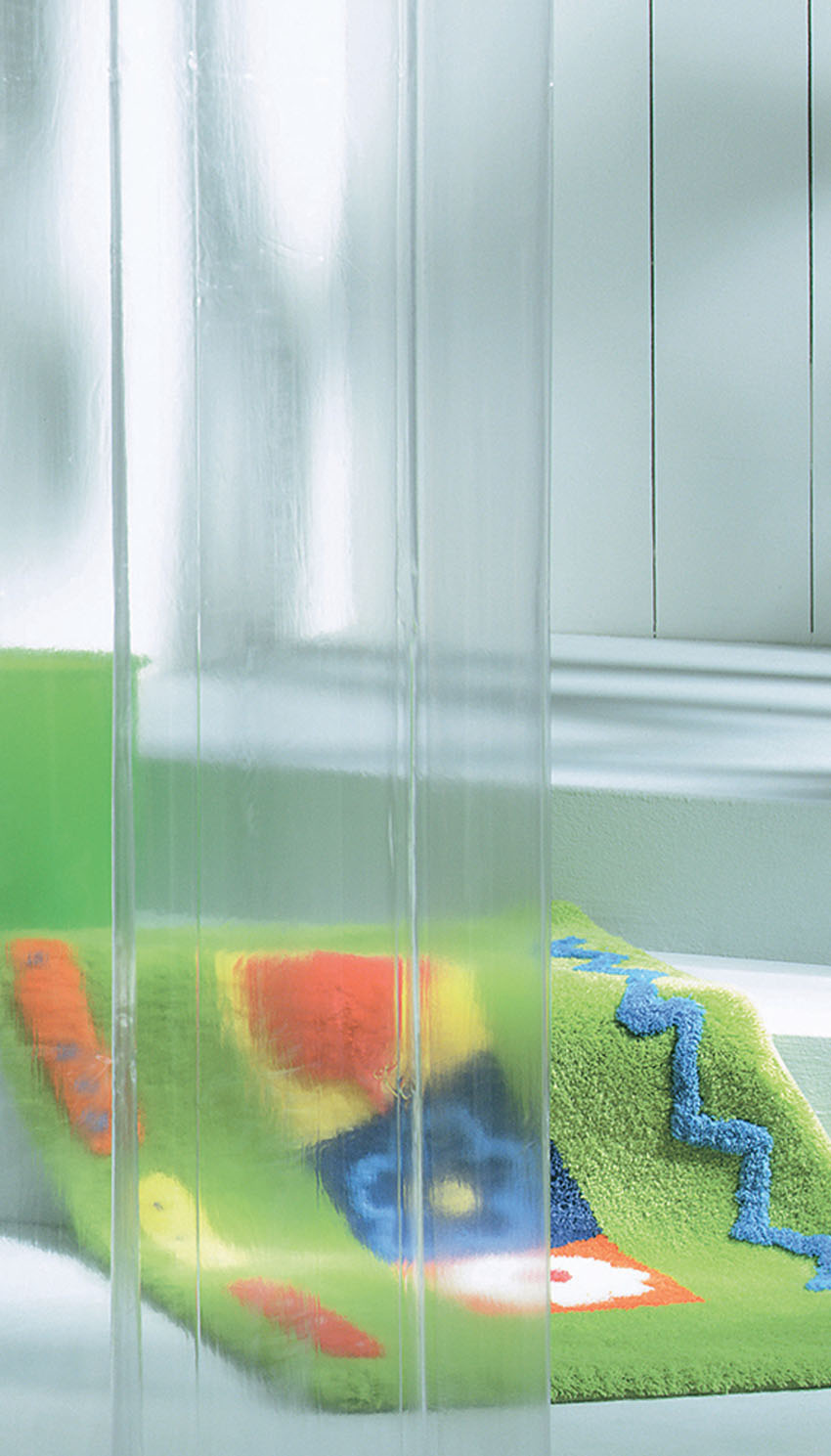 """Κουρτίνα Πλαστική """"Clear Transparent"""" 180×200εκ. Sealskin 210041300 (Υλικό: Πλαστικό) – sealskin – 210041300"""