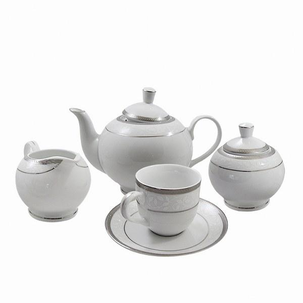 Σετ τσαγιού 9τμχ Πορσελάνης - AB - 6-242-tea-set  δώρα γάμου