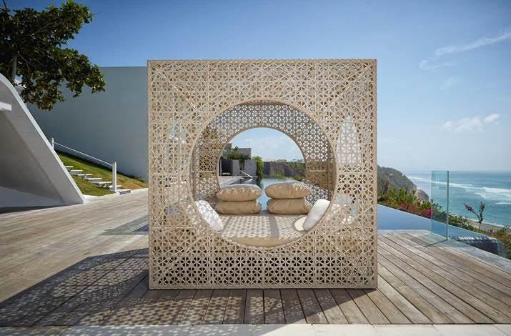 Καθιστικό Εξωτερικού Χώρου Πολυαιθυλενίου 2x2x2εκ. Cube - OEM - cube κηποσ   βεραντα έπιπλα κήπου   βεράντας