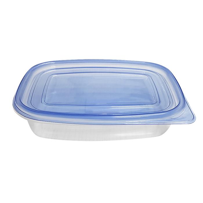 Δοχείο Φαγητού Πλαστικό 22x16,5x5εκ./1lt - OEM - 81.686