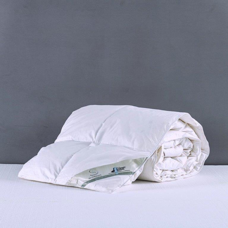 Πάπλωμα Μονό Πουπουλένιο Sb home - Sb home - poupoulo-pap1 λευκα ειδη υπνοδωμάτιο παπλώματα μονά   ημίδιπλα