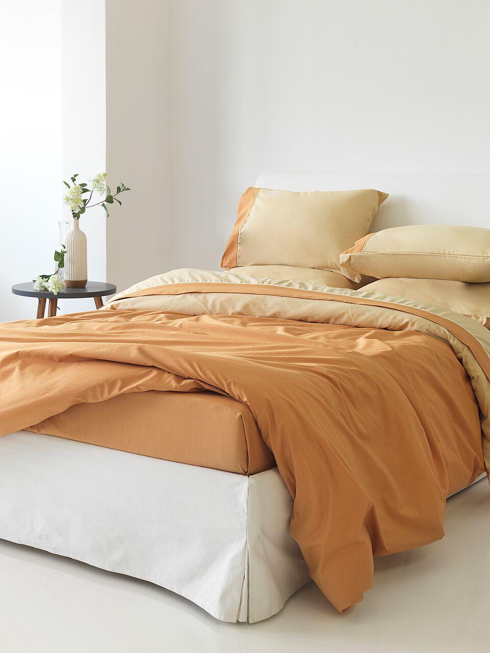Παπλωματοθήκη Μονή Simi Gold Sb home - Sb home - simi-th1-gold λευκα ειδη υπνοδωμάτιο παπλωματοθήκες μονές   ημίδιπλες