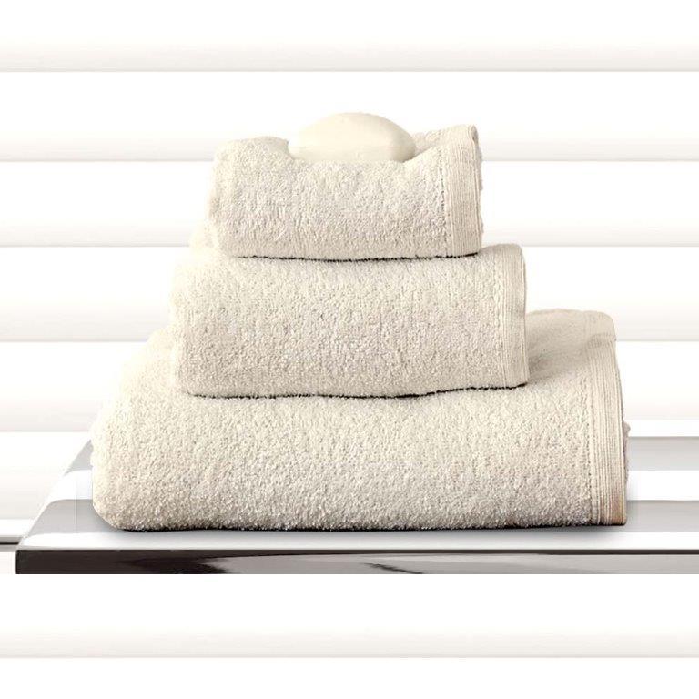 Σετ πετσέτες 3τμχ Primus Cream Sb home - Sb home - primus-cream-set λευκα ειδη mπάνιο πετσέτες μπάνιου
