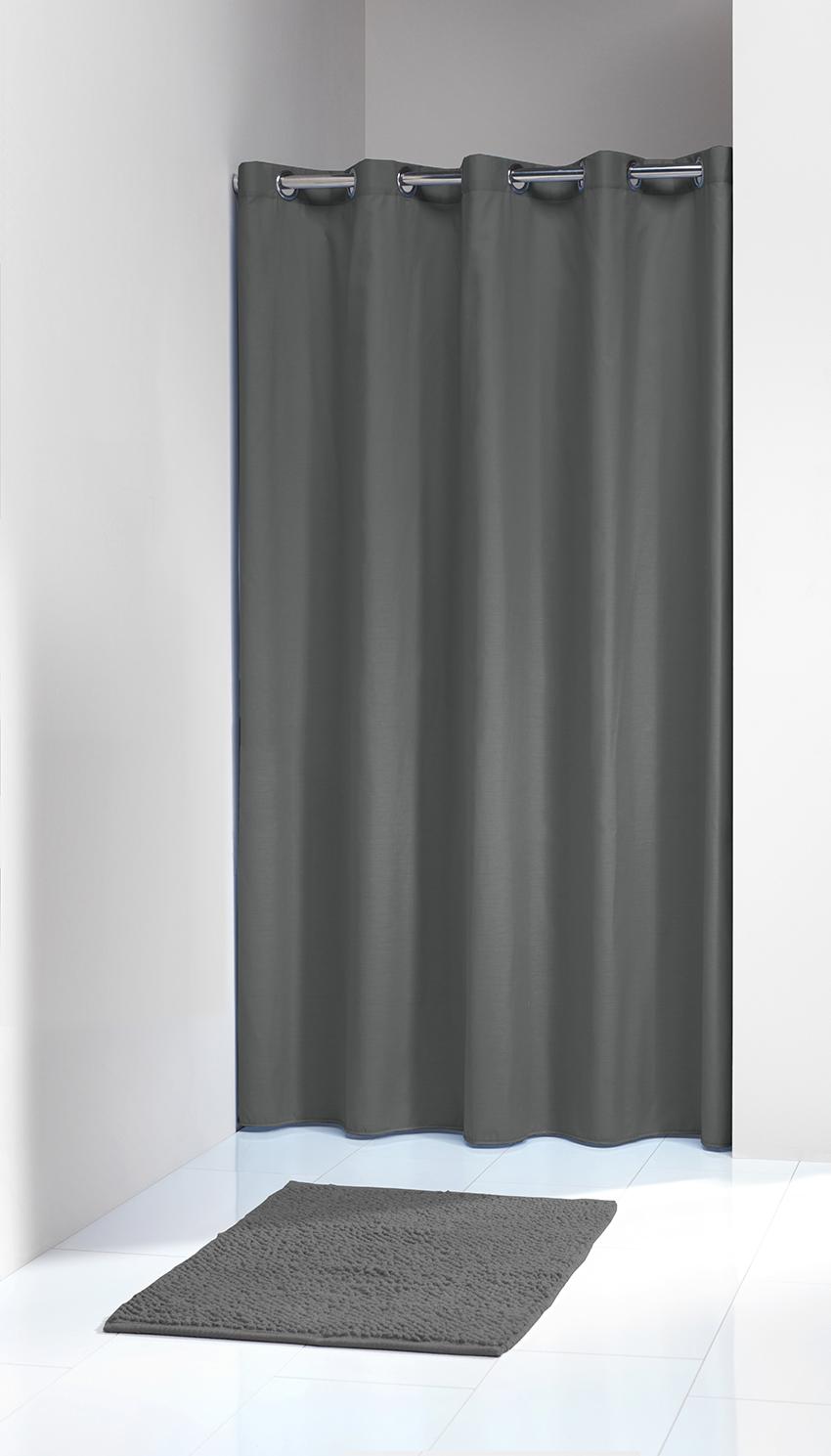 Κουρτίνα Υφασμάτινη «Coloris Grey» 180×200εκ. Sealskin 232211314 – sealskin – 232211314