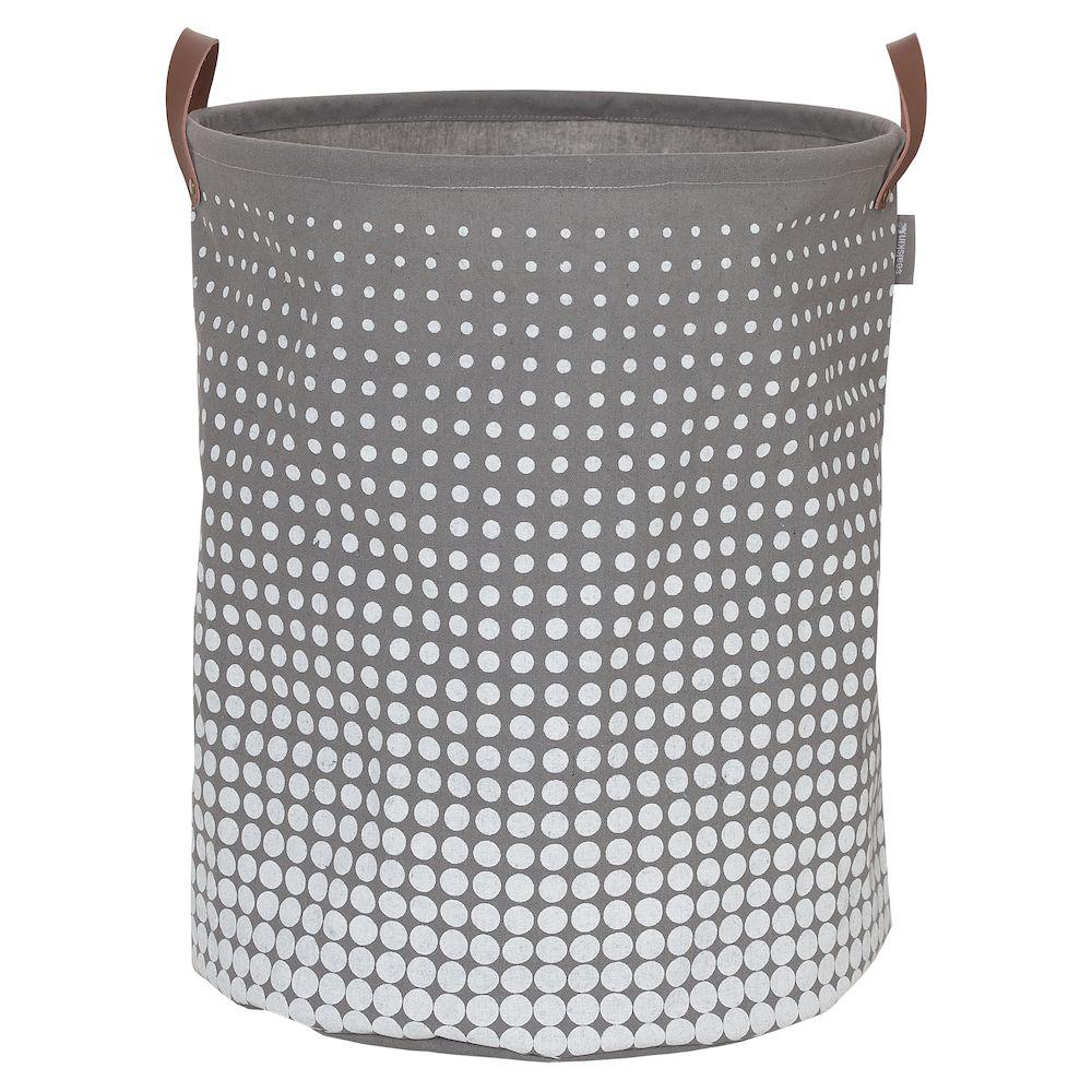 Καλάθι Απλύτων Υφασμάτινο «Speckles Grey» 50×40εκ. sealskin 361892012 – sealskin – 361892012