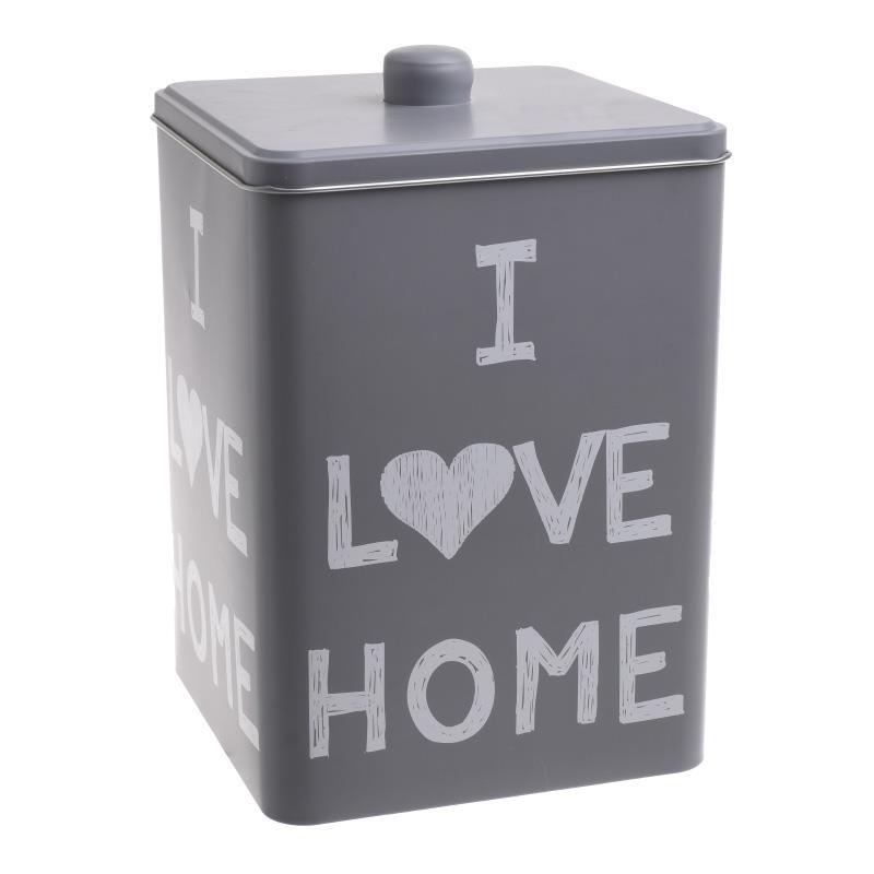 Δοχείο Μεταλλικό «Love Home» 24-229-0008 – 24home.gr – 24-229-0008