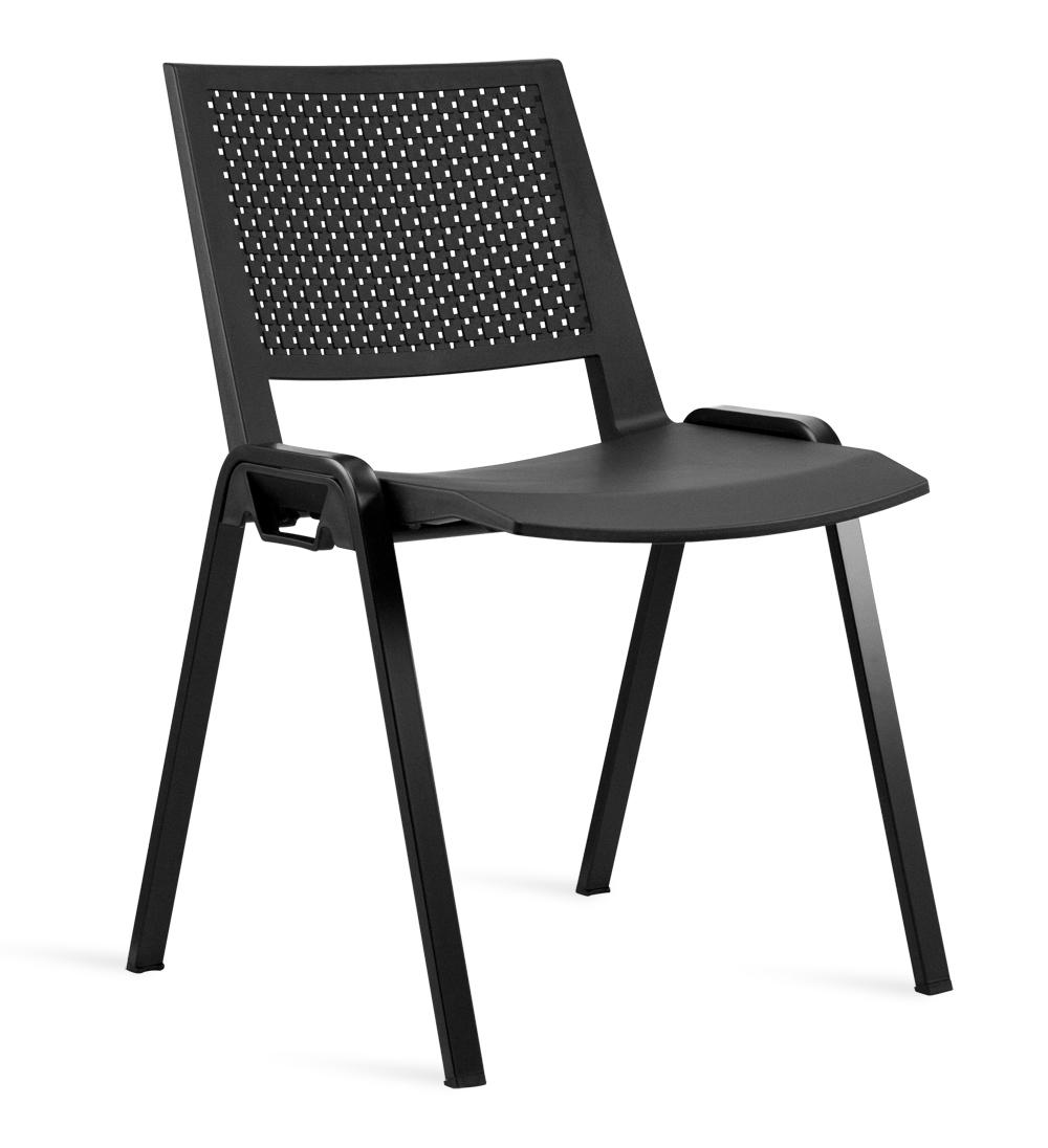 Καρέκλα Πολυπροπυλενίου Kentra Μαύρη – OEM – 13-kentra