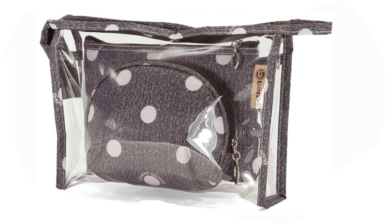 Νεσεσέρ Σετ 3τμχ benzi 5063 Black - benzi - 5063-black ειδη οικ  χρησησ βαλίτσες   τσάντες ταξιδίου