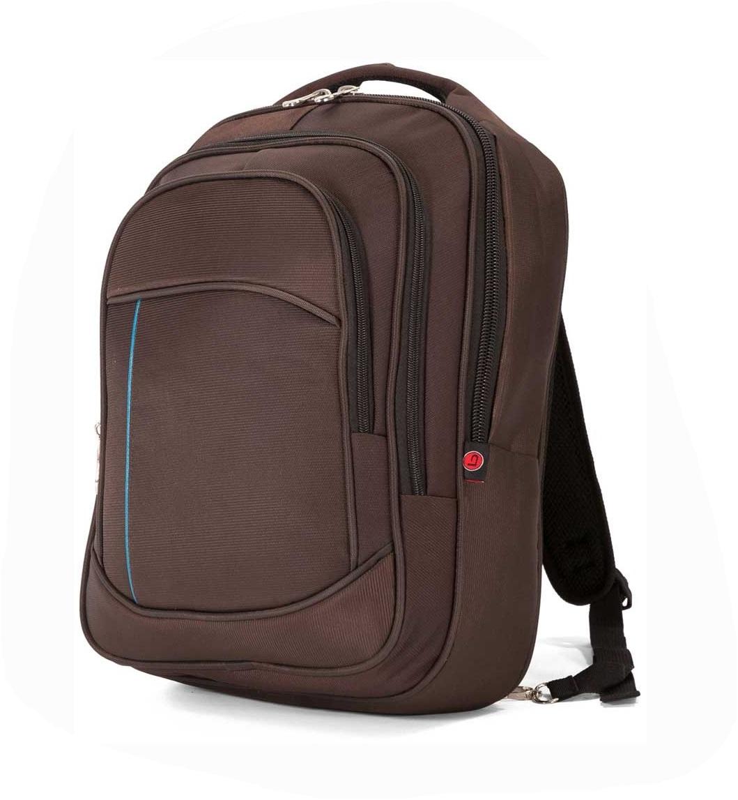 Σακίδιο Πλάτης Με Θήκη Laptop 30x41x20εκ. benzi 5067 Brown - benzi - 5067-brown ειδη οικ  χρησησ βαλίτσες   τσάντες ταξιδίου