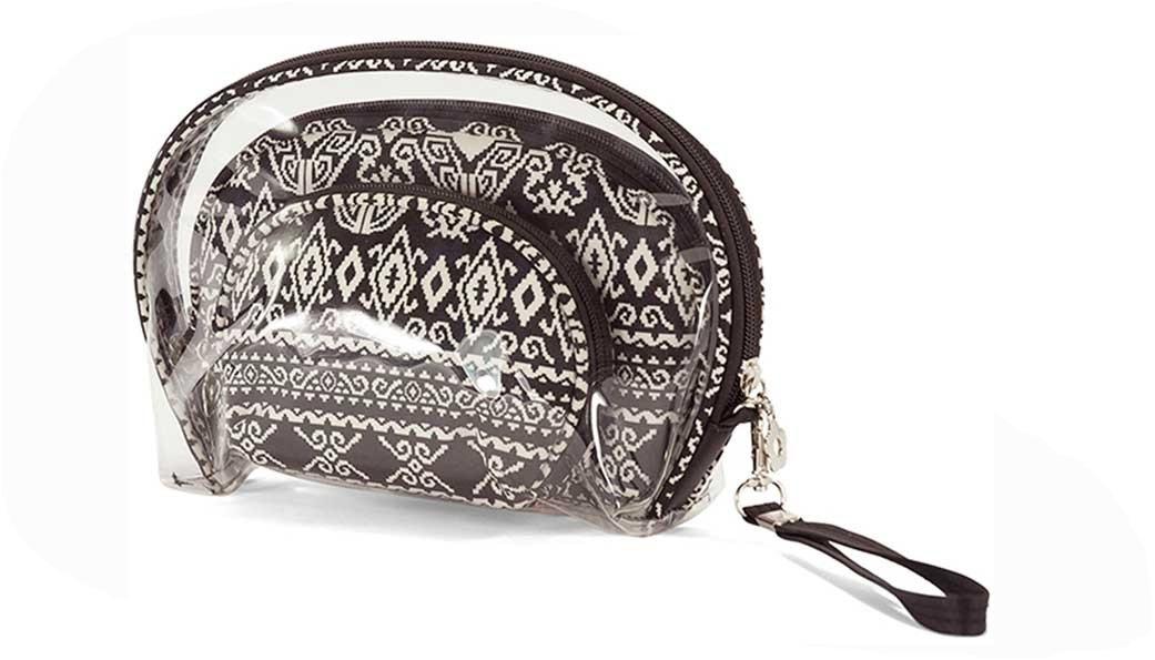 Νεσεσέρ Σετ 3τμχ benzi 5081 Ασπρόμαυρο - benzi - 5081-black-white ειδη οικ  χρησησ βαλίτσες   τσάντες ταξιδίου