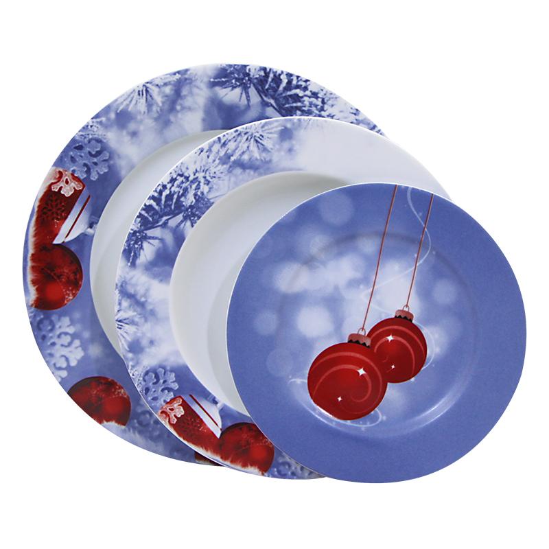 Σερβίτσιο Χριστουγεννιάτικο Πορσελάνης Bavaria 40 Τεμαχίων - AB - 6-christmas-40 κουζινα πιάτα   σερβίτσια