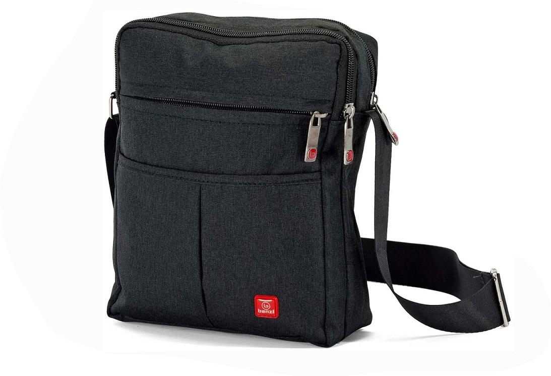 Τσαντάκι Ώμου 15x22x7εκ. benzi 5108 Black - benzi - 5108-black ειδη οικ  χρησησ βαλίτσες   τσάντες ταξιδίου