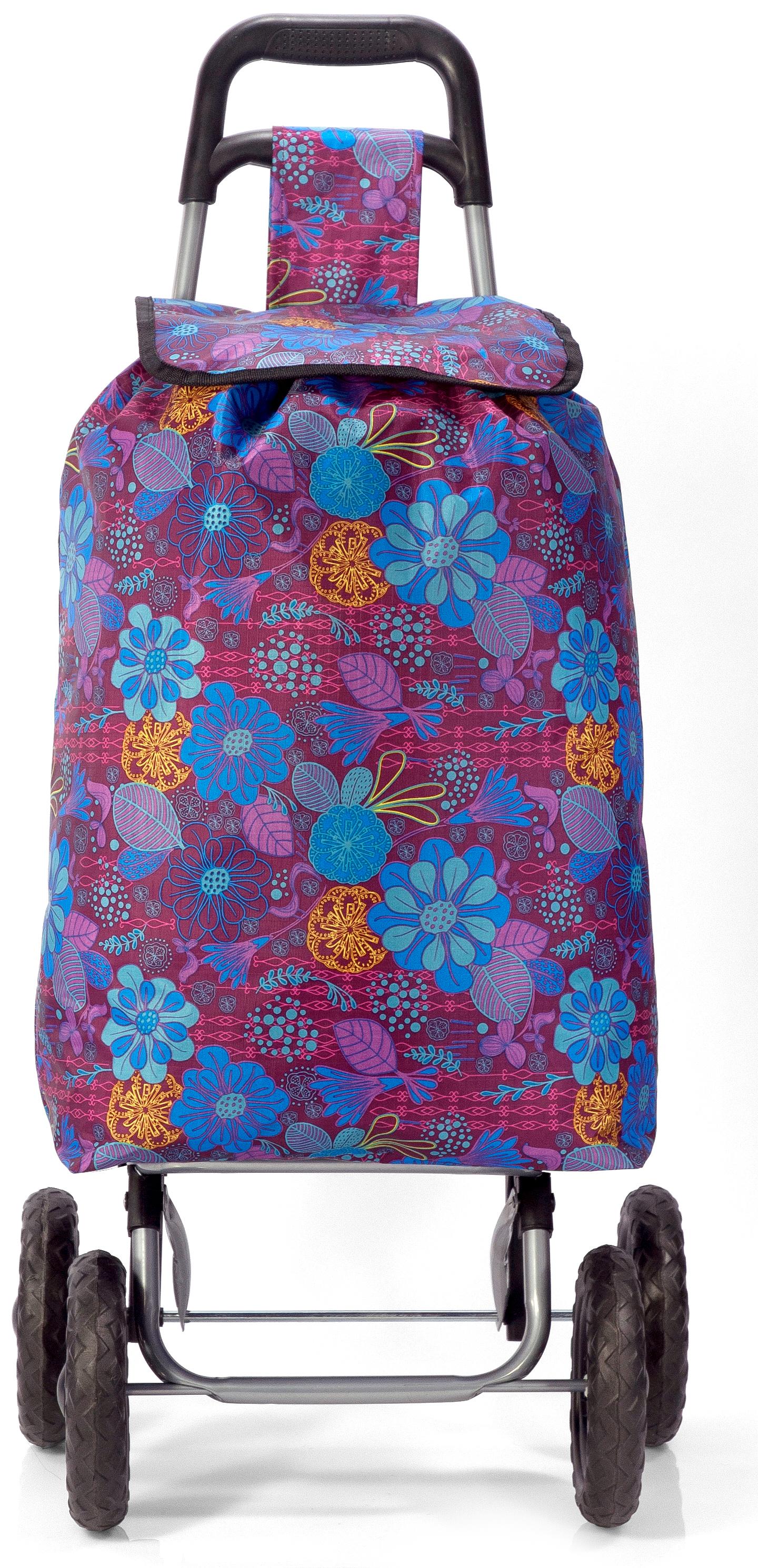 Καρότσι Λαϊκής Με Λουλούδια benzi 5049 – benzi – BZ-5049-PURPLE