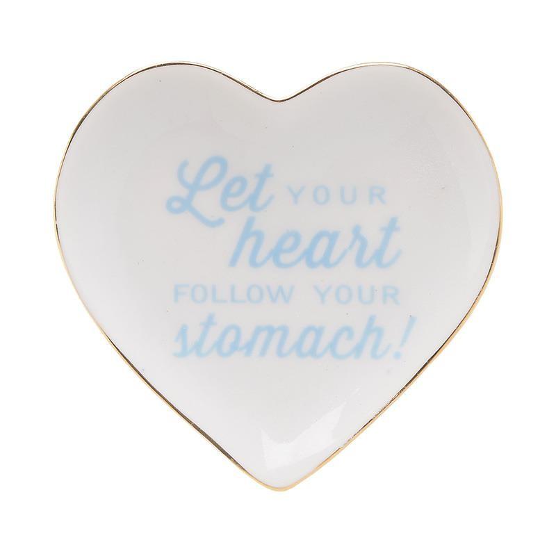 Πιατάκι Κεραμικό Καρδιά 12×8.5×1.5εκ. inart 3-70-146-0323 – inart – 3-70-146-0323