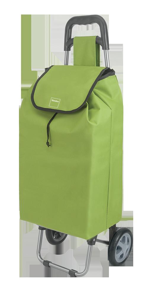 Καρότσι Αγοράς Πτυσσόμενο Metaltex Daphne Πράσινο - METALTEX - 415205-green