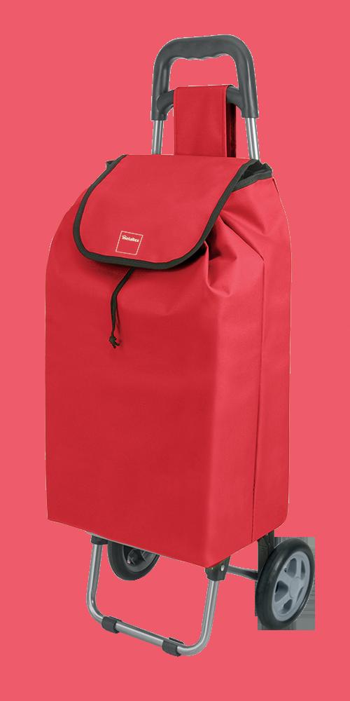 Καρότσι Αγοράς Πτυσσόμενο Metaltex Daphne Κόκκινο – METALTEX – 415205-red
