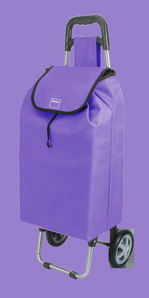 Καρότσι Αγοράς Πτυσσόμενο Metaltex Daphne Μωβ (Υλικό: Μεταλλικό, Ύφασμα: Polyester) – METALTEX – 415205-purple