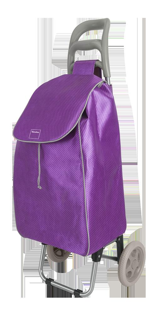 Καρότσι Αγοράς Πτυσσόμενο Metaltex Aster Μωβ – METALTEX – 415224-purple