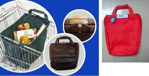 Τσάντα Αγορών Κόκκινη Easy-Shopper Cooler 33x52x39εκ. Veltihome 1534 – VELTIHOME – 1534