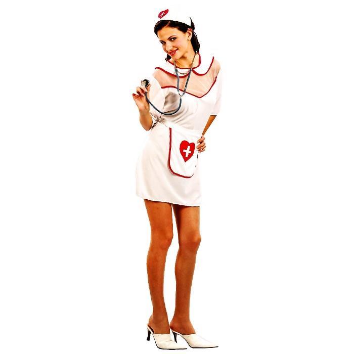 Στολή Ενηλίκων Νοσοκόμα One Size – OEM – 3.1871