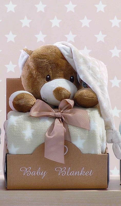 Σετ Κουβέρτα Bebe Και Αρκουδάκι Hoodies 2 Makis Tselios - Makis Tselios - hoodie λευκα ειδη παιδί κουβέρτες μπεμπέ