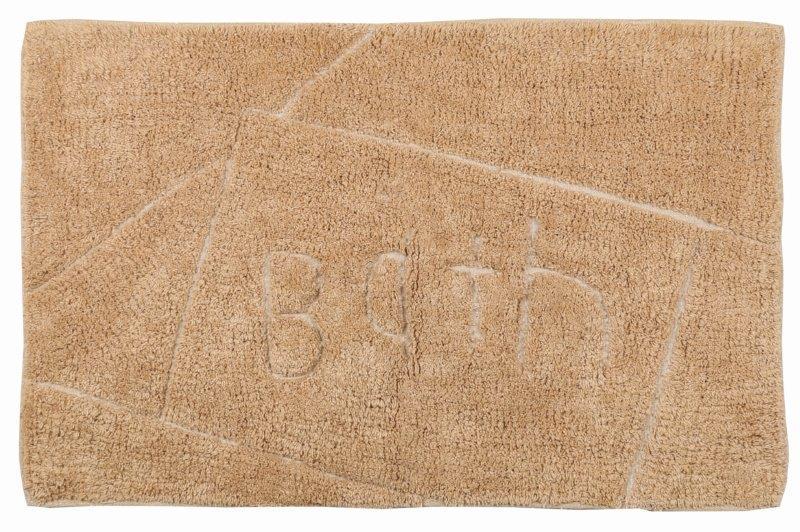 """Ταπέτο Μπάνιου """"Bath"""" Καφέ 60x90εκ. - estia - 02-4156 λευκα ειδη mπάνιο ταπέτο μπάνιου"""