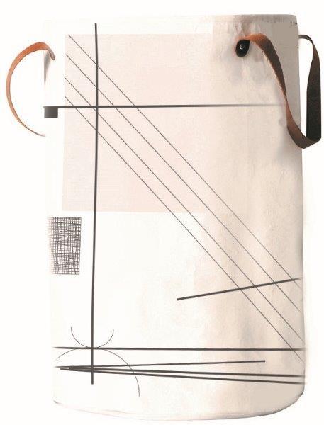 Καλάθι Απλύτων «Abstract act» Εstia 42,5×49εκ. 02-3289 – estia – 02-3289