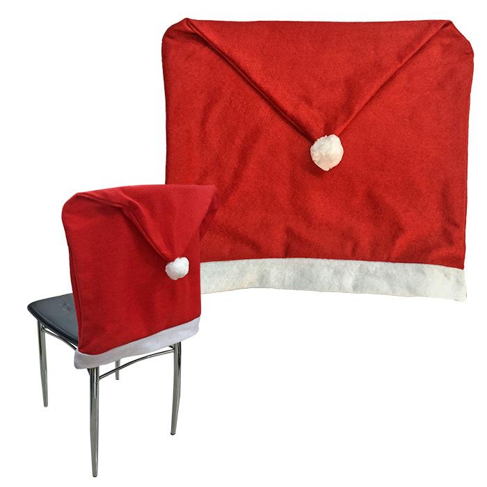 """Κάλυμμα Πλάτης Καρέκλας """"Σκούφος"""" 60×47εκ. – Xmas fest – 93-2203"""