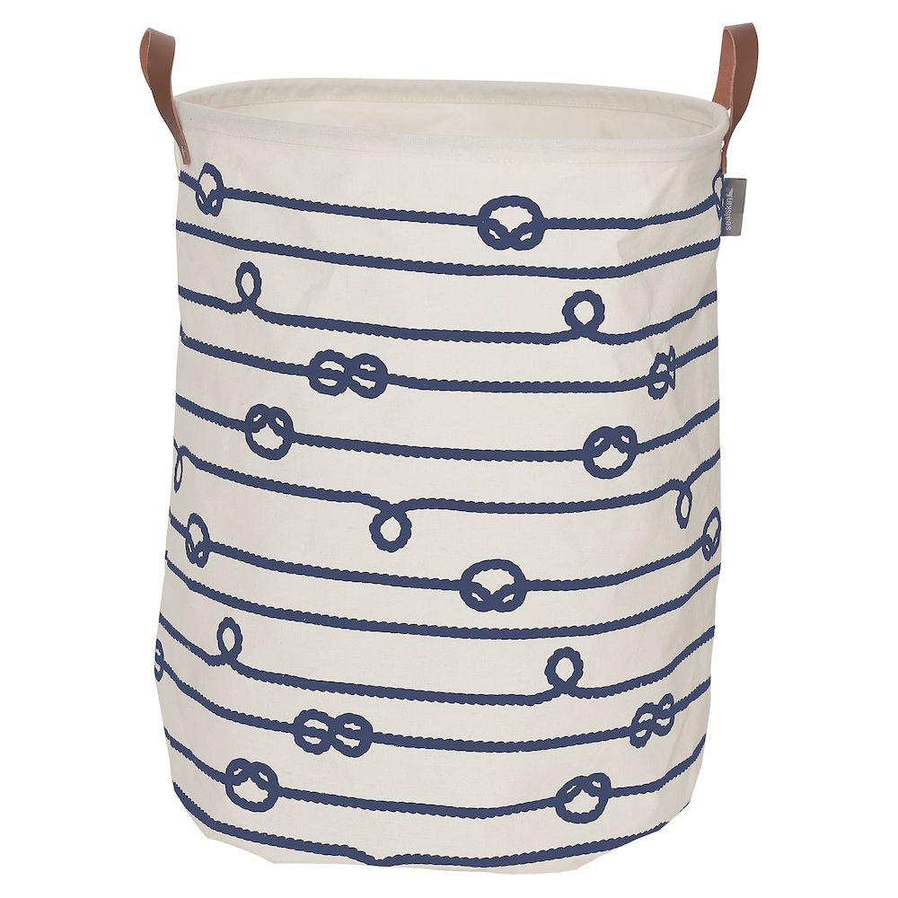 Καλάθι Απλύτων Υφασμάτινο «Rope Ecru» 50×40εκ. sealskin – sealskin – 362282022