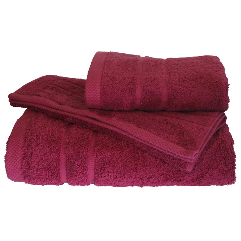 Σετ πετσέτες 3τμχ 600gr/m2 Dora Crimson 24 home – 24home.gr – 24-dora-crimson
