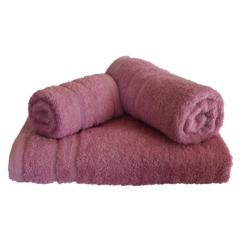 Σετ πετσέτες 3τμχ 500gr/m2 Sena Lilac 24home – 24home.gr – 24-sena-lilac
