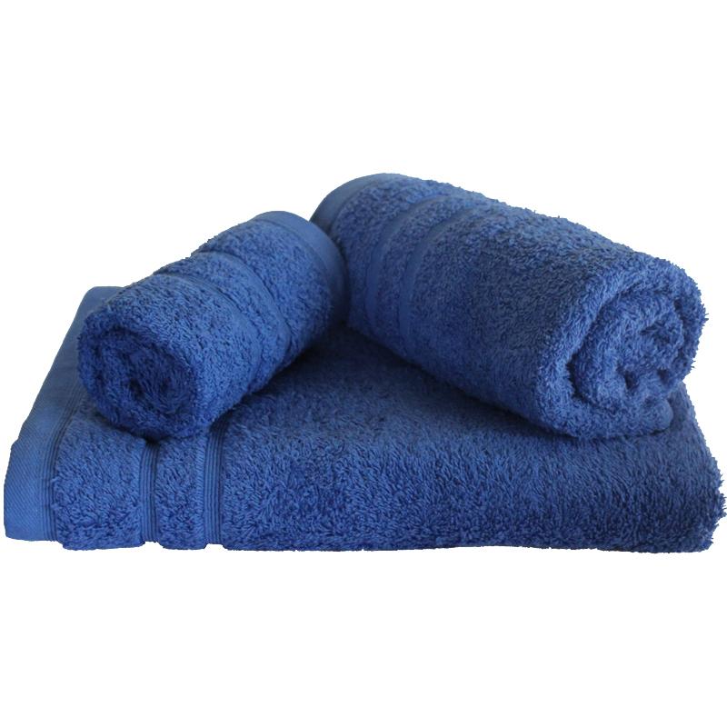Σετ πετσέτες 3τμχ 500gr/m2 Sena Blue 24home – 24home.gr – 24-sena-blue