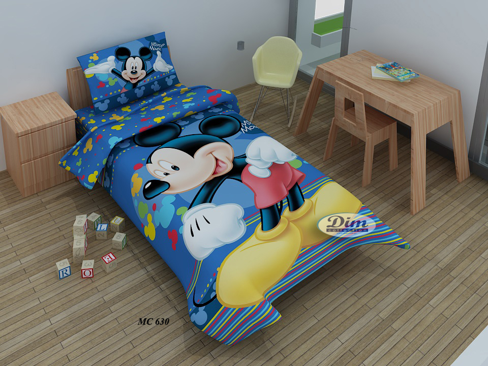 Σετ Παπλωματοθήκη Μονή Ψηφιακή Mickey 630 Dim Collection - Disney - mickey-630-t λευκα ειδη παιδί παπλωματοθήκες παιδικές