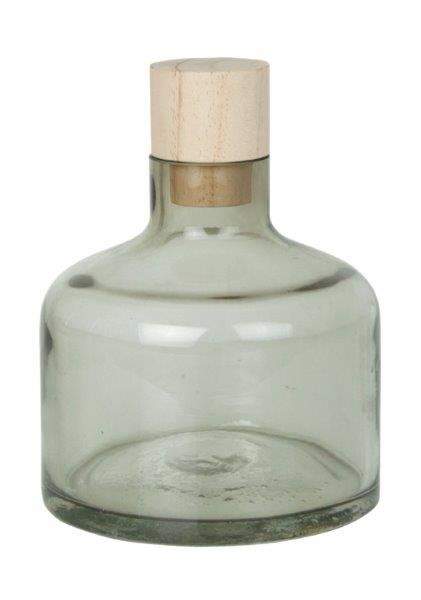 Διακοσμητικό Μπουκάλι Γυάλινο-Ξύλινο Gallery S&P (Υλικό: Ξύλο) – Salt & Pepper – BAM41914