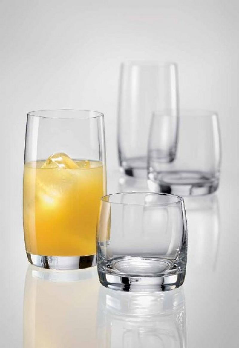 Σετ 6τμχ Ποτήρι Χαμηλό Τσεχίας Leona 280ml - AB - 6-leona-280 κουζινα ποτήρια