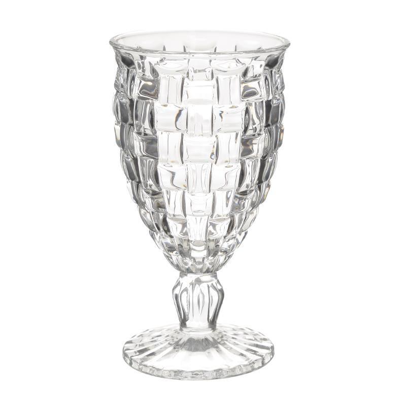 Ποτήρι Κρασιού Σετ 6τμχ inart 9x16,5εκ. 3-60-095-0013 (Υλικό: Γυαλί) - inart - 3-60-095-0013