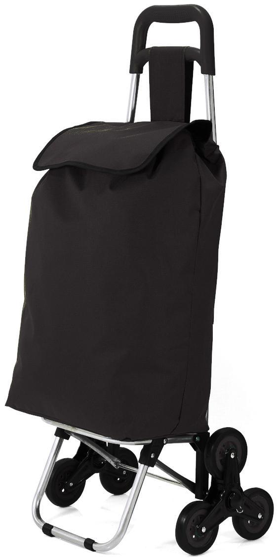 Καρότσι Λαϊκής benzi 32x20x55εκ. 4757 Μαύρο (Υλικό: Μεταλλικό, Ύφασμα: Polyester) – benzi – BZ-4757-black