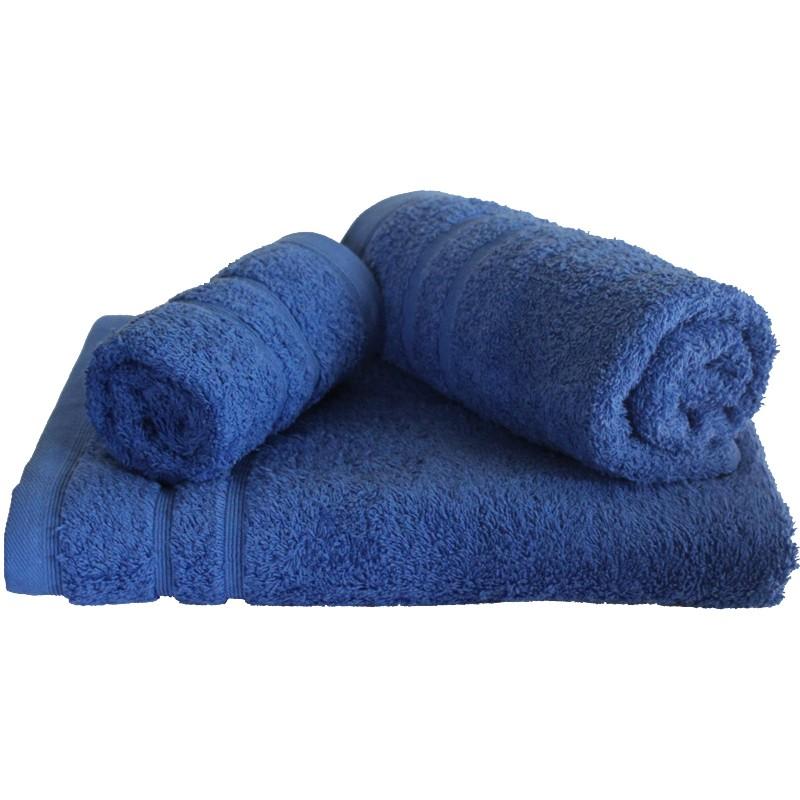Πετσέτα Μπάνιου 75x145εκ. 500gr/m2 Sena Blue 24home - 24home.gr - 24-sena-blue-t λευκα ειδη mπάνιο πετσέτες μπάνιου