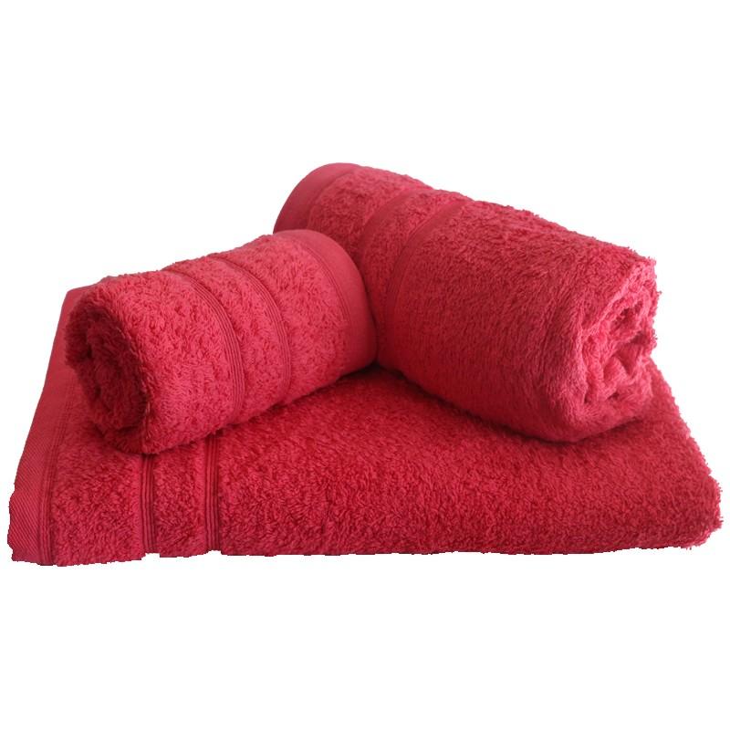 Πετσέτα Μπάνιου 75x145εκ. 500gr/m2 Sena Fuchsia 24home - 24home.gr - 24-sena-fuc λευκα ειδη mπάνιο πετσέτες μπάνιου