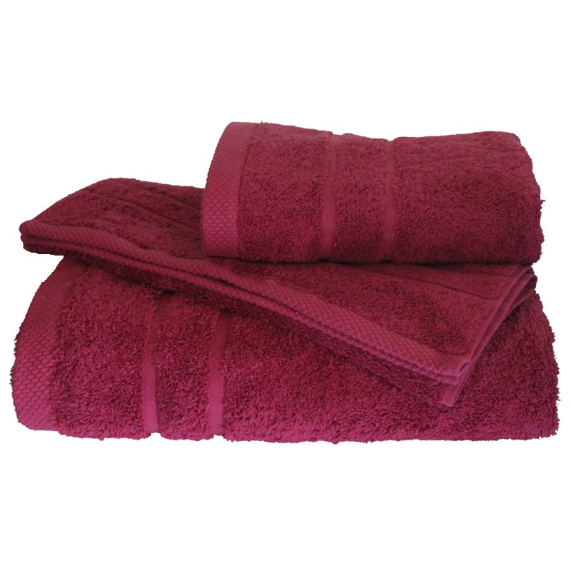 Πετσέτα Μπάνιου 80x145εκ. 600gr/m2 Dora Crimson 24home - 24home.gr - 24-dora-cri λευκα ειδη mπάνιο πετσέτες μπάνιου