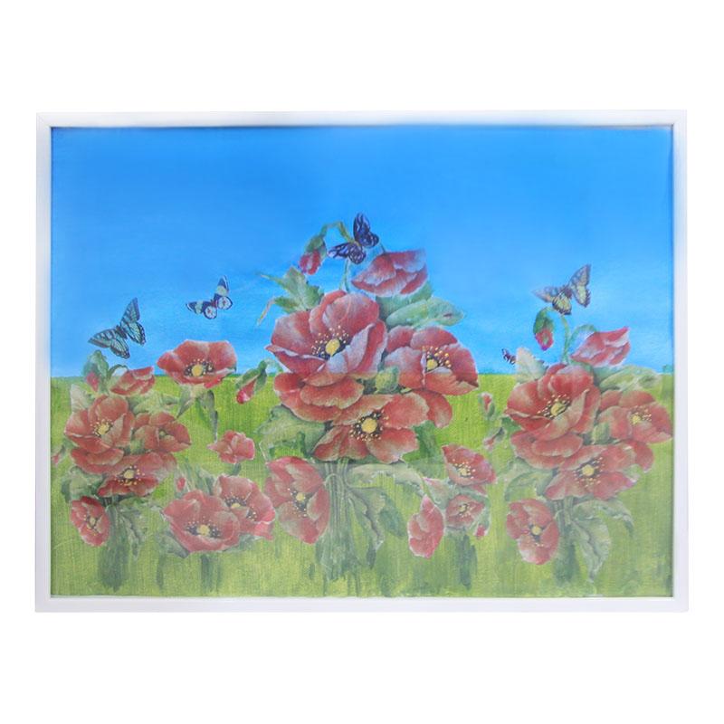 Πίνακας – Καμβάς Σε Κορνίζα 41×31εκ. – OEM – paparounes-red